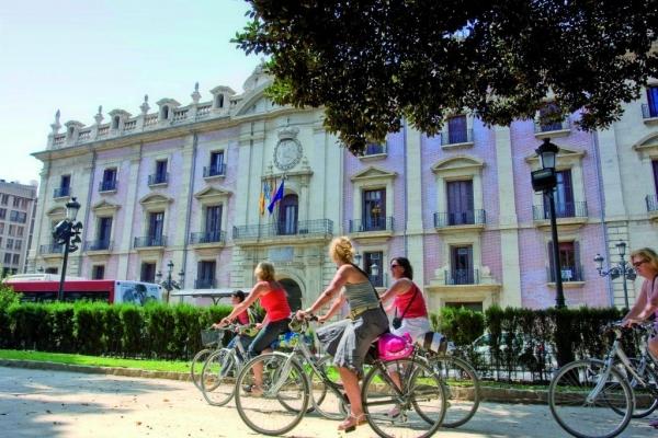 tour por Valencia en Bicicleta