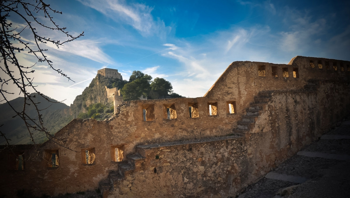 Murallas Castillo Xativa