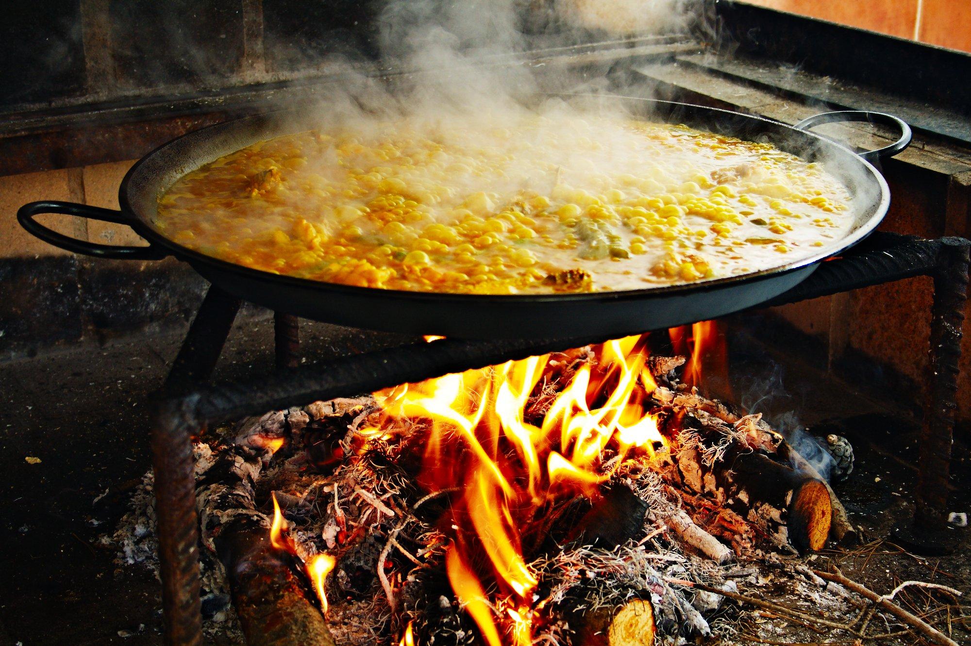 paella Valencia y taller de paella