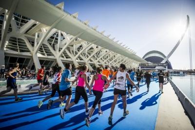 Maratona di Valencia running