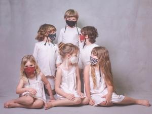 Mascarillas de tela para niños